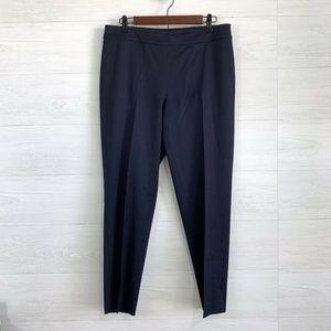 St John Wool Blend Navy Blue Trousers